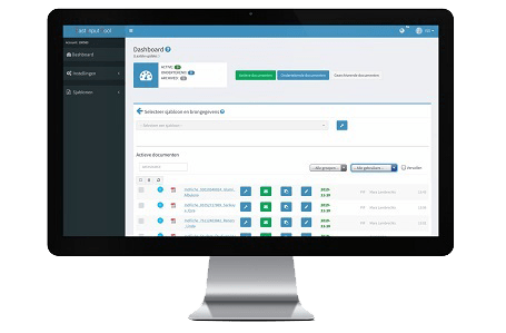 ContractZA dashboard
